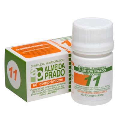 Complexo Homeopático Almeida Prado - 11 | 60 comprimidos