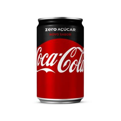 Refrigerante Coca-Cola - Zero Açúcar | 220ml