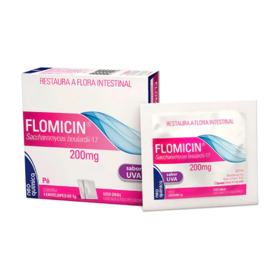 Flomicin Pó - 200mg   4 envelopes/1g