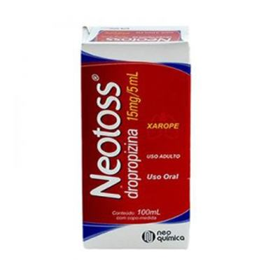 Neotoss Xarope Adulto - 15mg/5ml | 100ml
