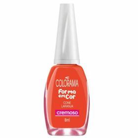 Esmalte Colorama Blister Cremoso - Cone Laranja | 8ml