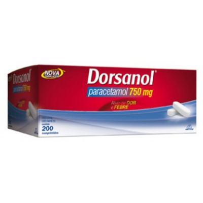 Dorsanol - 750mg | 10 comprimidos
