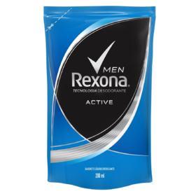 Sabonete Rexona Liquido Refil Men - Active | 200ml