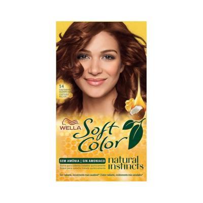 Kit Soft Color - Castanho Acobreado 54   125g