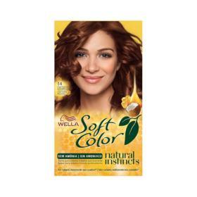 Kit Soft Color - Castanho Acobreado 54 | 125g
