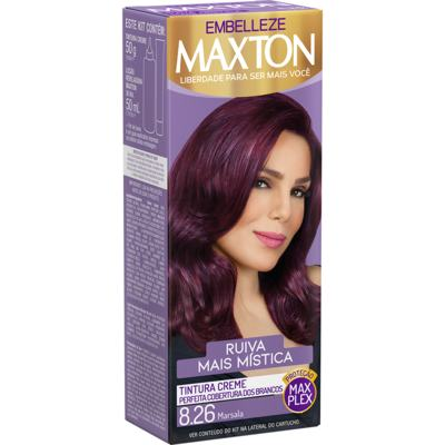 Tintura Creme Maxton - 8.26 Marsala   1 unidade