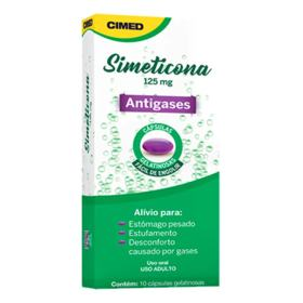 Simeticona Genérico Cimed - 125mg   10 cápsulas gel