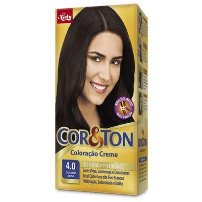 Kit Cor&Ton - Castanho Medio 4.0 | 125g