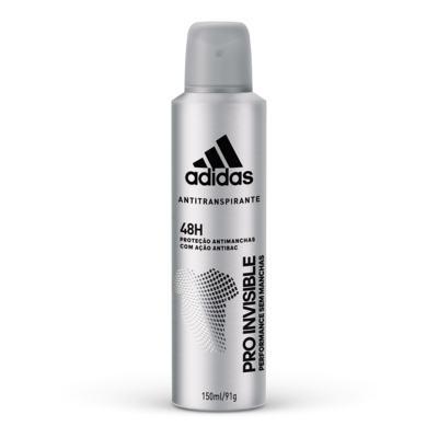 Desodorante Aerosol Adidas Maculino - Pro Invisible | 150ml