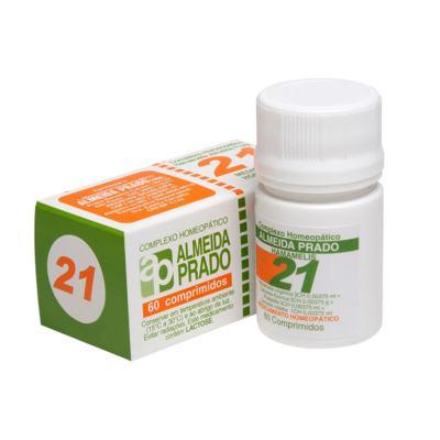 Complexo Homeopático Almeida Prado - 21 | 60 cápsulas