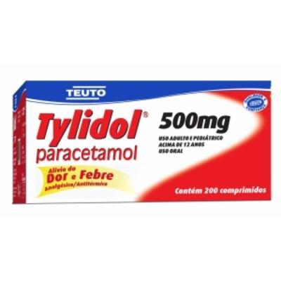 Tylidol - 500mg | 4 comprimidos