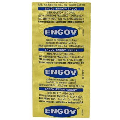 Engov - 6 comprimidos