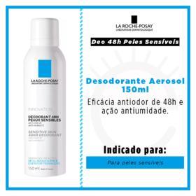 Desodorante La Roche-Posay Deo 48H Pele Sensível - 150mL