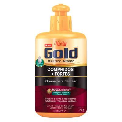 Creme Niely Gold De Pentear - Compridos + Fortes | 280g