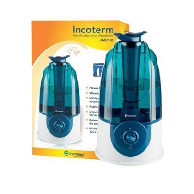 Umidificador De Ar Ultrassonico Incoterm Umd100 - Azul | 3L
