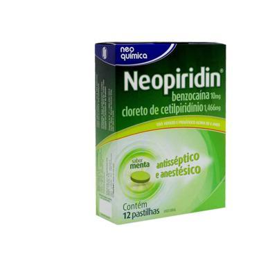 Neopiridin - Sabor Menta | 12 pastilhas
