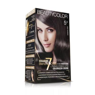 Tintura Beauty Color - 5.0 Castanho Claro