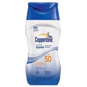 Protetor Solar Coppertone UltraGuard Loção FPS50 - 120ml