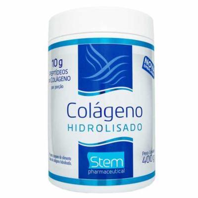 Colágeno Hidrolisado em Pó Stem - Sem Sabor | 400g