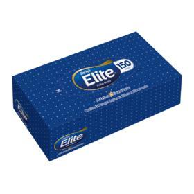 Lenço Softys Elite - Folha Dupla | 150 unidades