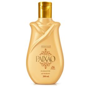 Hidratante Paixão Óleo de Amêndoas ação desodorante - Radiante   200ml