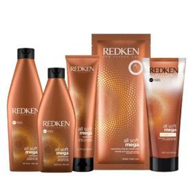 Redken All Soft Mega - Shampoo Hidratante - 300ml