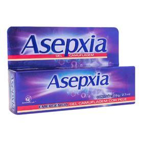 Gel Secativo Asepxia - Cor de Pele | 28g