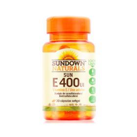 Sun E Sundown - 400UI | 30 cápsulas