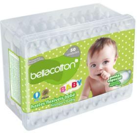 Hastes Flexíveis Bellacotton - 50 unidades