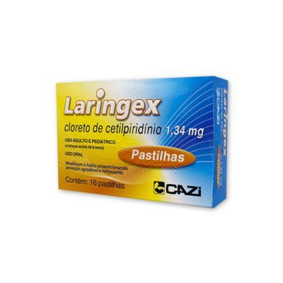Pastilhas Laringex - 16 pastilhas