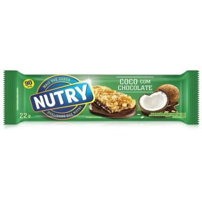 Barra de Cereais Nutry Light - Coco Com Chocolate | 20g