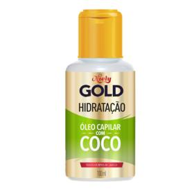 Óleo Capilar Niely Gold - Água de Coco | 100ml