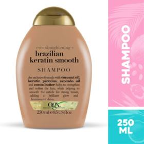 Shampoo Ogx - Brazilian Keratin Smooth | 250ml