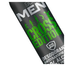 Desodorante Soffie Men - Cross Edition aerosol   300mL