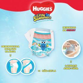 Fralda Huggies Little Swimmers - P | 12 unidades