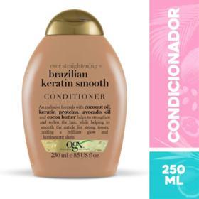 Condicionador Ogx - Brazilian Keratin Smooth | 250ml