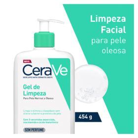 Gel de Limpeza Cerave - Foaming Facial Cleanser   454g