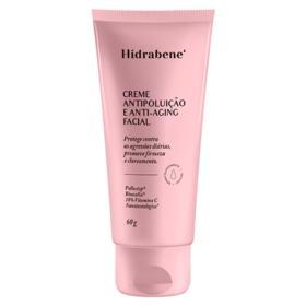 Creme Antipoluição Anti-Aging Facial Hidrabene - 60g