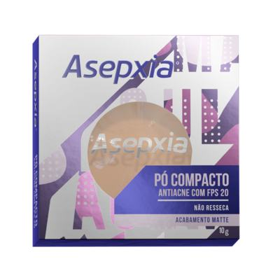 Pó Compacto Asepxia FPS20 - Marfim | 10g