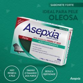Sabonete Antiacne Asepxia Forte - 80g
