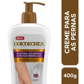 Creme Para Pernas Goicoechea Efeito Reafirmante - Elástica, Colágeno e Frutas Vermelhas | 400g