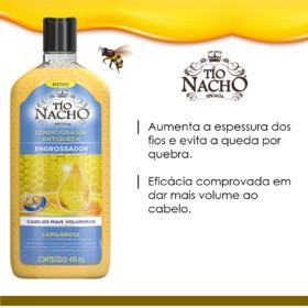 Condicionador Tío Nacho - Antiqueda Engrossador | 415ml