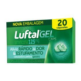 Luftal - Gel Caps | 20 Cápsulas Gelatinosas Moles