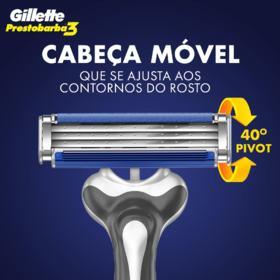 Aparelho de Barbear Gillette Prestobarba3 - Leve 4 Pague 3