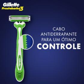Gillette Prestobarba 3 Aparelho Barbear Masculino - Sense Care | 4 unidades