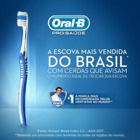 Escova Dental Oral-B Indicator - Plus 30 | 2 unidades