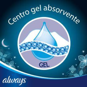 Absorvente Always Ultrafino Noites Tranquilas Cobertura Seca - Com Abas | 8 unidades