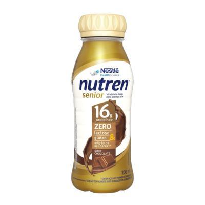 Suplemento Alimentar Nutren Senior - Chocolate Zero Lactose   200ml