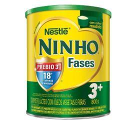 Composto Lácteo NINHO - Fases 3+ | 800g