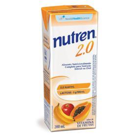 Complemento Alimentar Nutren 2.0 - Vitamina de Frutas   200ml